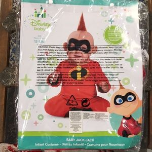jack jack incredibles costume. 12-18 month. NWT